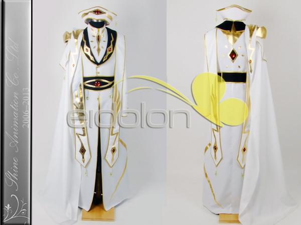 コードギアス反逆のルルーシュR2 ルルーシュ 皇帝 コスプレ衣装 グッズの画像