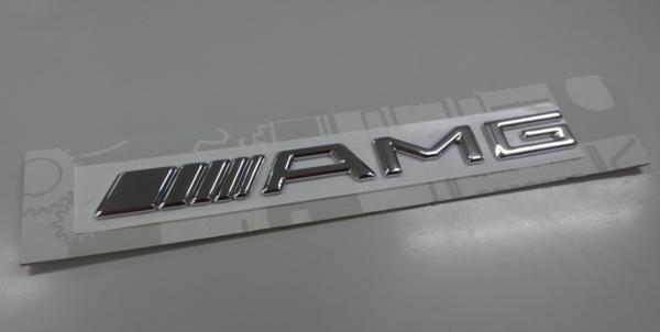 ベンツ W210 W211 W202 W203/純正品 AMG トランクエンブレム_画像1