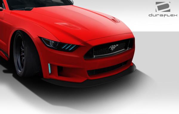 2015-2016 フォード マスタング フロントリップ 送料無料/税込_画像3