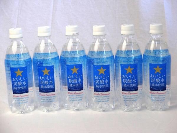 サッポロおいしい炭酸水 ペットボトル 500ml×18本_画像1