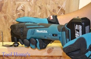 新品 マキタ 18V充電式 マルチツールTM51DZ 同等品/コードレス 切断 剥離 研削 石こうボード 木材 金属管_画像7