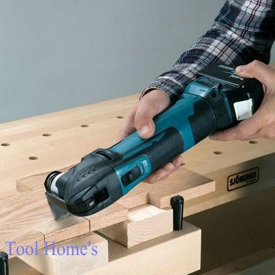 新品 マキタ 18V充電式 マルチツールTM51DZ 同等品/コードレス 切断 剥離 研削 石こうボード 木材 金属管_画像6