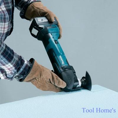 新品 マキタ 18V充電式 マルチツールTM51DZ 同等品/コードレス 切断 剥離 研削 石こうボード 木材 金属管_画像8