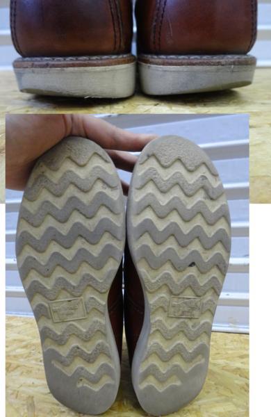 REDWING レッドウイング ブーツ 9106 US7D 25cm 赤茶 モックトウ_画像8