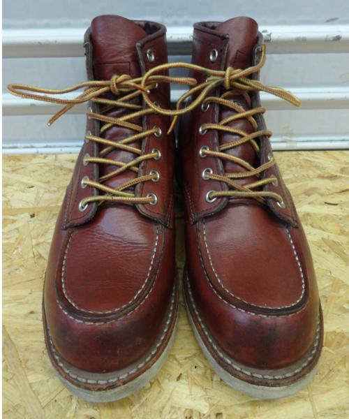 REDWING レッドウイング ブーツ 9106 US7D 25cm 赤茶 モックトウ_画像2