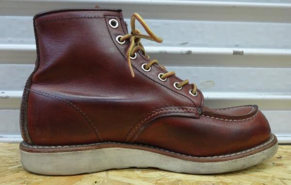 REDWING レッドウイング ブーツ 9106 US7D 25cm 赤茶 モックトウ_画像4