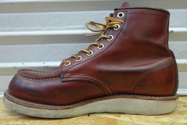 REDWING レッドウイング ブーツ 9106 US7D 25cm 赤茶 モックトウ_画像6