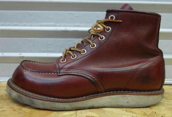 REDWING レッドウイング ブーツ 9106 US7D 25cm 赤茶 モックトウ_画像3