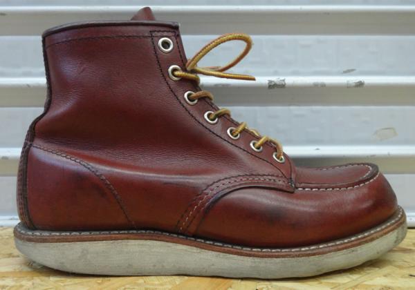 REDWING レッドウイング ブーツ 9106 US7D 25cm 赤茶 モックトウ_画像5