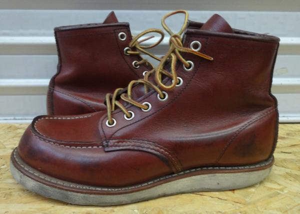 REDWING レッドウイング ブーツ 9106 US7D 25cm 赤茶 モックトウ