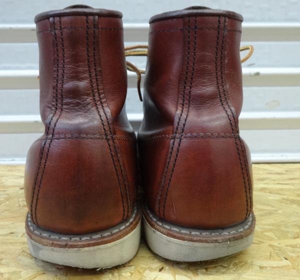 REDWING レッドウイング ブーツ 9106 US7D 25cm 赤茶 モックトウ_画像7