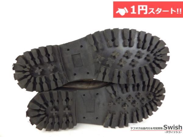 A501●CEBO セボ● CLIMBING BOOTS クライミングブーツ 43 ベージュ●_画像5