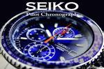 2名様1円!海外限定生産逆輸入モデル【SEIKO】セイコー フライトマスター 1/20秒高速パイロットクロノBL 新品