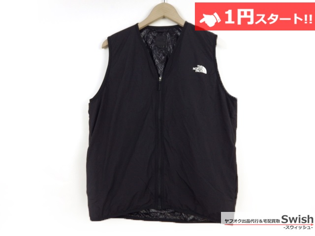 A377●THE NORTH FACE ノースフェイス●WS INSULATION QUILTED VEST 中綿ベスト L 黒●