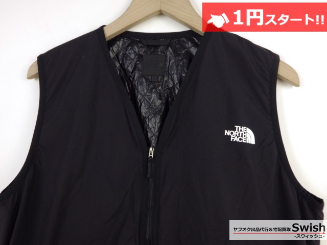 A377●THE NORTH FACE ノースフェイス●WS INSULATION QUILTED VEST 中綿ベスト L 黒●_画像2