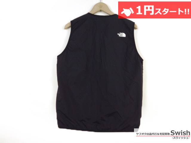 A377●THE NORTH FACE ノースフェイス●WS INSULATION QUILTED VEST 中綿ベスト L 黒●_画像3