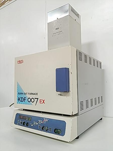 デンケン リングファーネス KDF 007EX & リバーナー KDF ES7S 歯科技工 動作良好