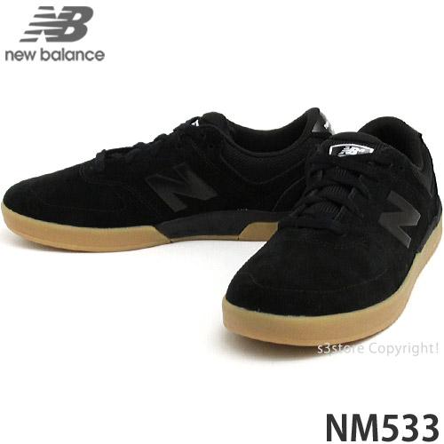 交渉可 NEWBALANCE NM533 BKT(Black/Gum) 28.0cm ニューバランス ヌメリック533 スケシュー スニーカー シューズ 靴 スケートボード SKATE_画像1