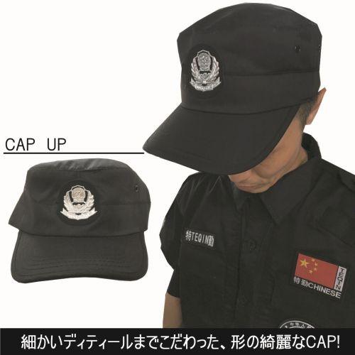 ハロウィン コスプレ【SWAT L 180】 警察 ポリス セットアップ 帽子 ワッペン付き 仮装 サバゲー 【1709141000】#%i_画像5