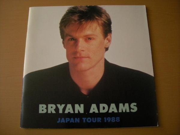 mkm_I045 ブライアン・アダムス JAPAN TOUR 1988 パンフレット
