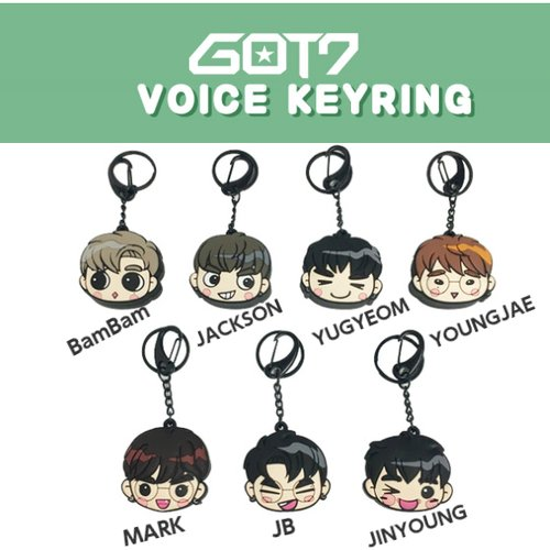 GOT7 VOICE KEY RING タイプ JB 公式グッズ
