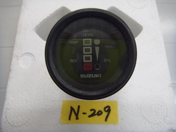 「N209 SUZUKI suzuki スズキ 船外機用 オイルレベルメーター 中古品」の画像1