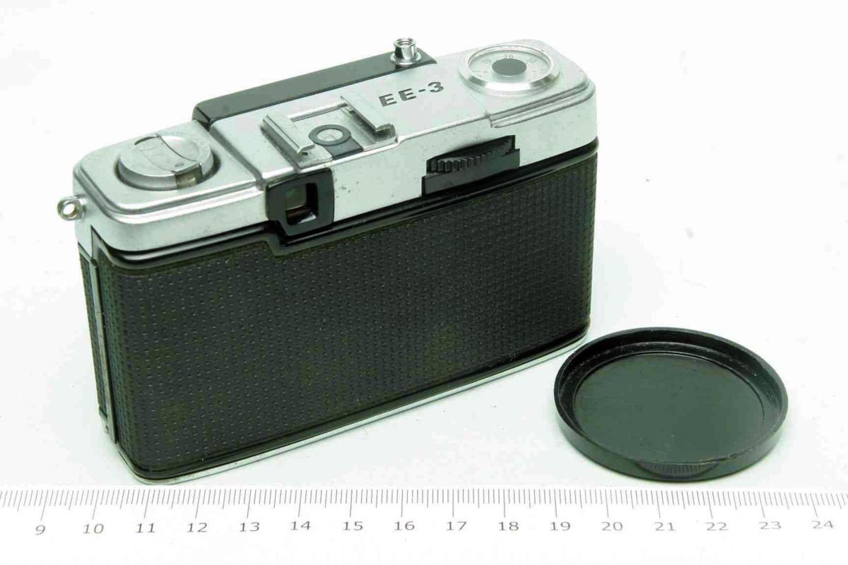 ※ ハーフカメラ オリンパス ペン EE-3 PEN 28mm f3.5 D.Zuiko キャップ付 sa6314_画像2