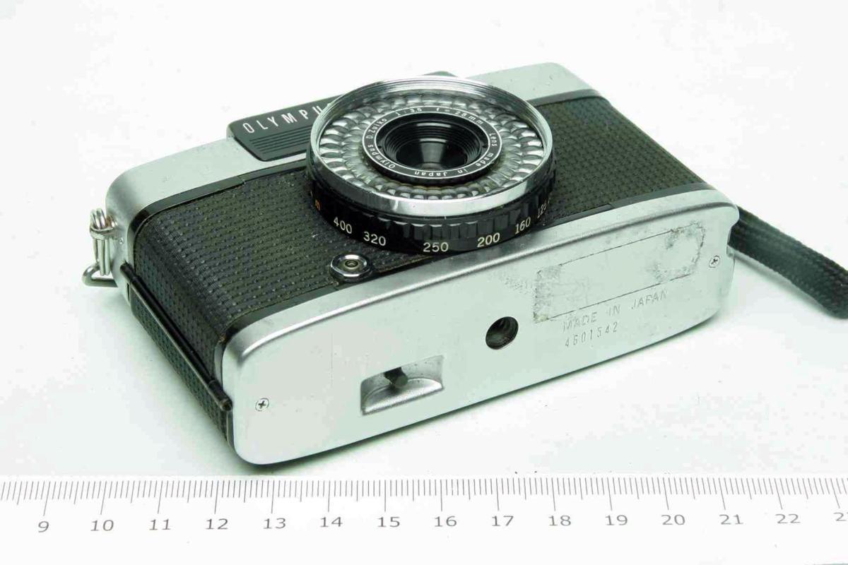 ※ ハーフカメラ オリンパス ペン EE-3 PEN 28mm f3.5 D.Zuiko キャップ付 sa6314_画像3