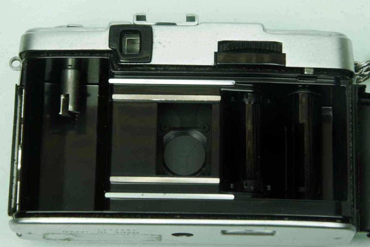 ※ ハーフカメラ オリンパス ペン EE-3 PEN 28mm f3.5 D.Zuiko キャップ付 sa6314_画像5