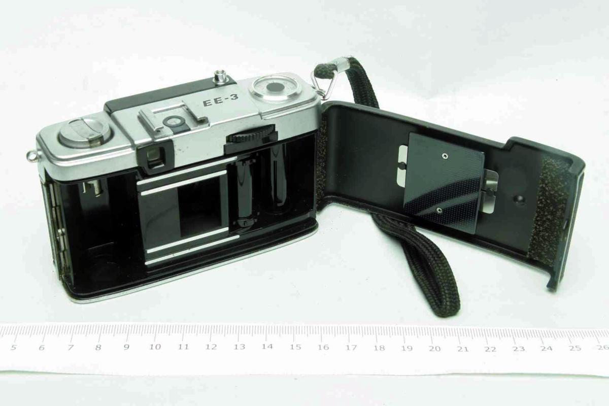 ※ ハーフカメラ オリンパス ペン EE-3 PEN 28mm f3.5 D.Zuiko キャップ付 sa6314_画像6