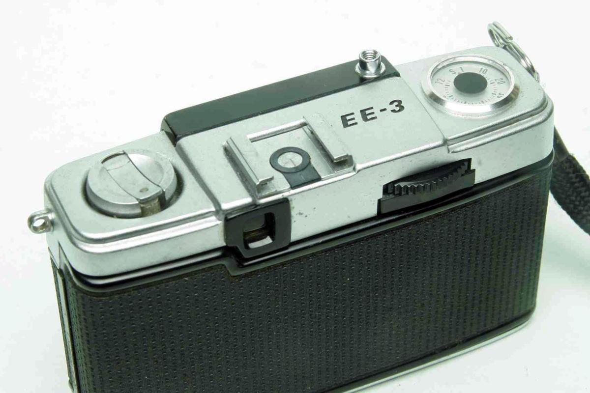 ※ ハーフカメラ オリンパス ペン EE-3 PEN 28mm f3.5 D.Zuiko キャップ付 sa6314_画像8