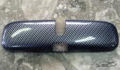 ルームミラーカバー 1~4型対応 カーボンルック ハイエース