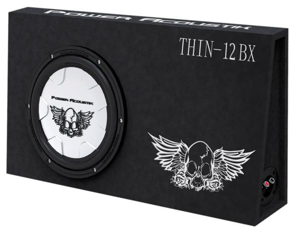 ■USA Audio■パワーアコースティック Power Acoustik 30cm薄型純正BOX THIN-12BX ●Max.650W●保証付 ●税込_画像1