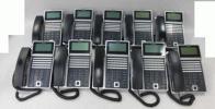 j 6990) 保証有 LEVANCIO IX-24KT-N(BLK) 10台 電話機 2012年製 全部キレイだよ 送料無料
