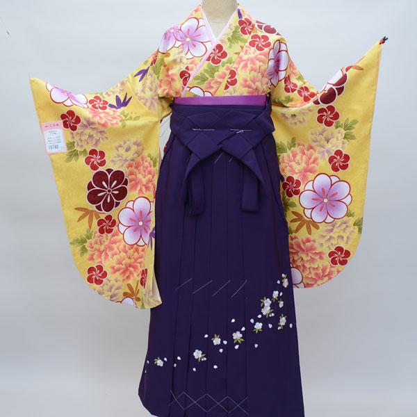 二尺袖着物袴フルセット 豪華絢爛 卒業式に 新品 (株)安田屋_画像1