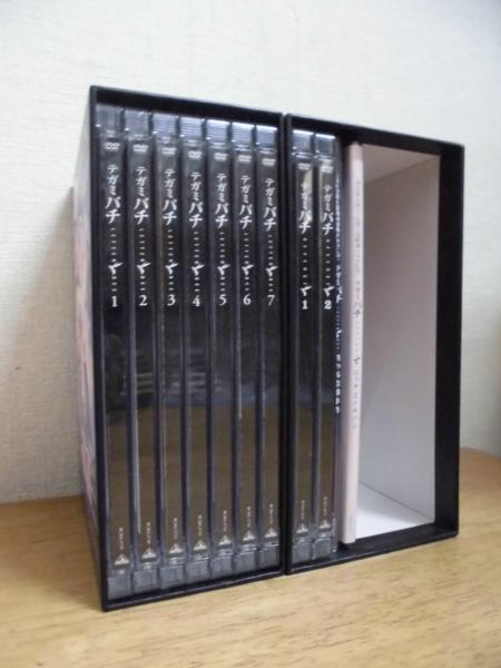 DVD/テガミバチ全7巻+REVERSE 1、2巻+特典CD2枚 BOX付_画像1
