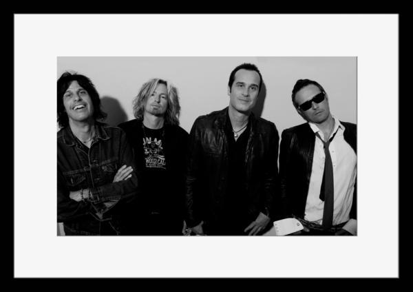 BW:人気ロックバンド!ストーン・テンプル・パイロッツ/Stone Temple Pilots/STP/モノクロ写真フレーム-4