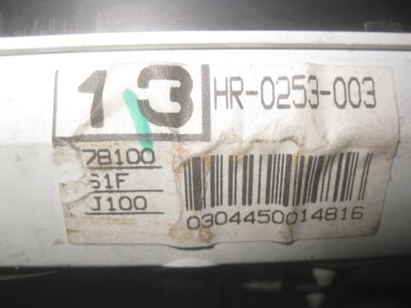 【35396】 Ja4 ライフ スピードメーター 339086 km 棚1_画像3