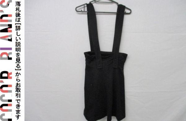 ツインルーム TWNROOM レディース ジャンパースカート 2 黒 ブラック_画像2