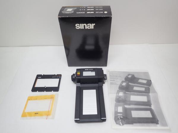 Sinar ロールフィルムホルダー Sinar Zoom ♪ 4D712-18