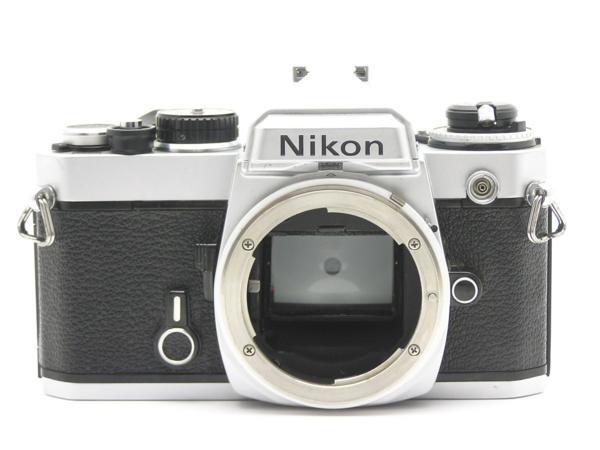 ★ハロ-カメラ★5837 Nikon FE シルバ- B.3025527 難有 動作品