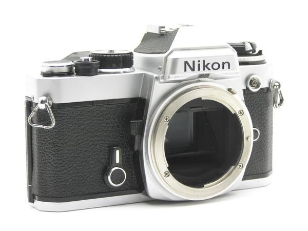 ★ハロ-カメラ★5837 Nikon FE シルバ- B.3025527 難有 動作品_画像2