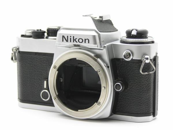 ★ハロ-カメラ★5837 Nikon FE シルバ- B.3025527 難有 動作品_画像3