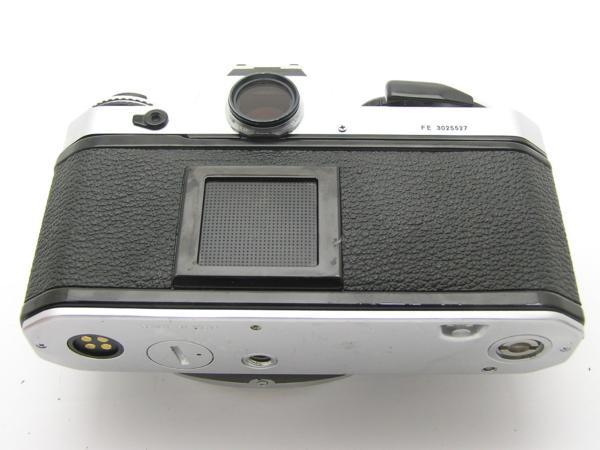 ★ハロ-カメラ★5837 Nikon FE シルバ- B.3025527 難有 動作品_画像5