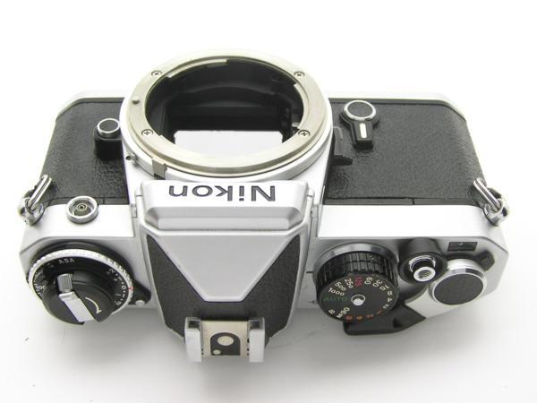★ハロ-カメラ★5837 Nikon FE シルバ- B.3025527 難有 動作品_画像6