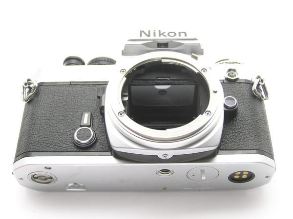 ★ハロ-カメラ★5837 Nikon FE シルバ- B.3025527 難有 動作品_画像7