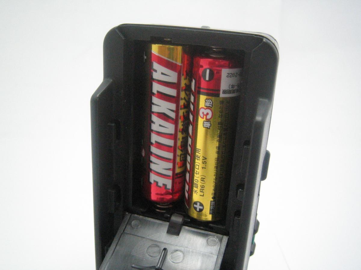 電池は付属しません