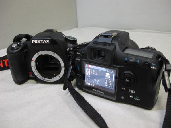 #3879 PENTAX K100D 2台セット