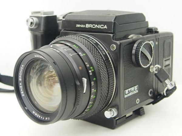 ZENZA BRONICA ETRS ボディ + レンズ2本 ジャンク ▽ 4DEB5-1_画像2
