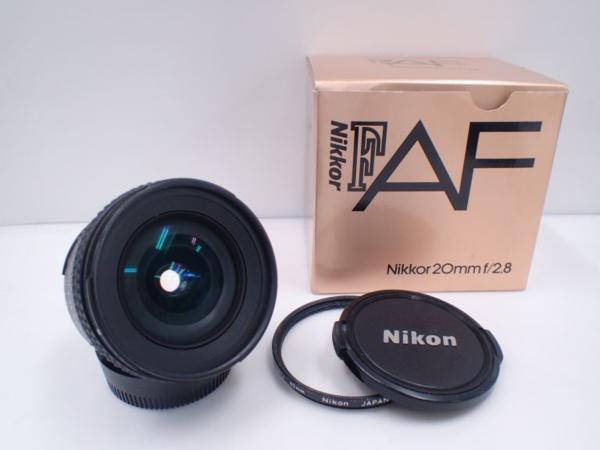 Nikon ニコン AF NIKKOR 20mm F2.8 元箱付 □ 4E1DA-3